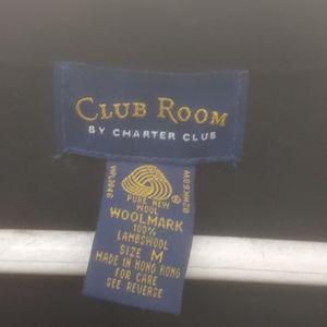 CLUB Room Lambswool Vest black sz M L